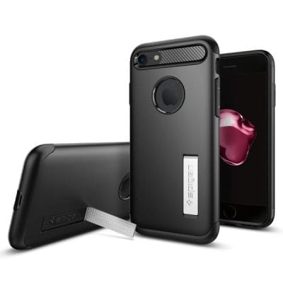 Spigen Slim Armor Black Case iPhone 7/8