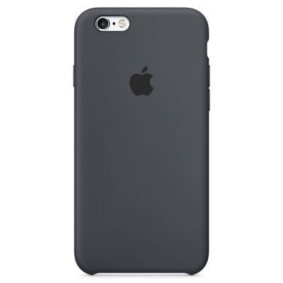 Apple Charcoal Gray Silicone Case iPhone 6/6S