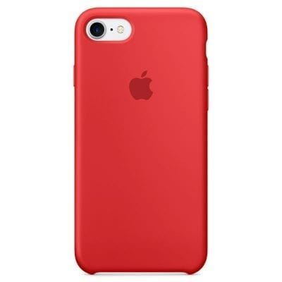 Apple Red Silicone Case iPhone 7/8