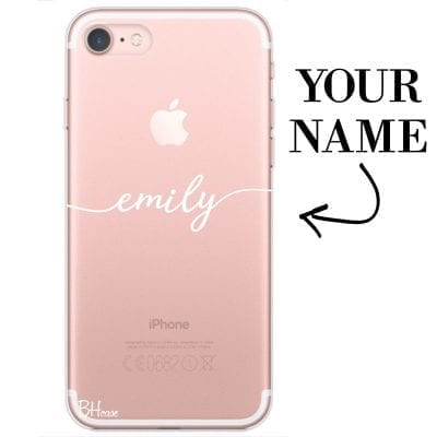 Case with name for iPhone 7/8
