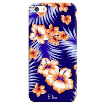 Night Floral Case iPhone SE/5S