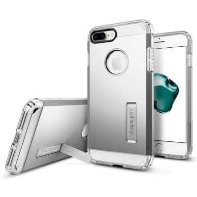 Spigen Tough Armor Satin Silver Case iPhone 7 Plus/8 Plus