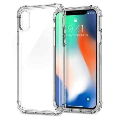Spigen Crystal Shell Crystal Clear Case iPhone X/XS
