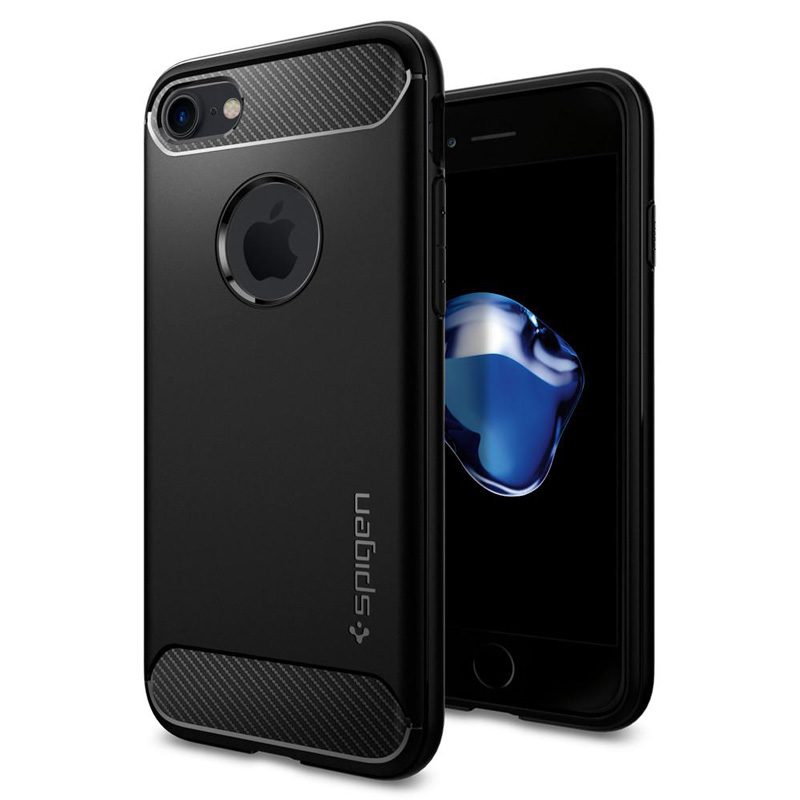 Spigen Rugged Armor Black Case iPhone 7/8