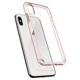 Spigen Ultra Hybrid Rose Crystal Case iPhone X/XS