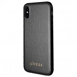 Guess Iridescent Black Case iPhone X/XS