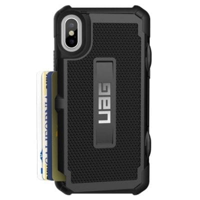 UAG Trooper Black Case iPhone X/XS