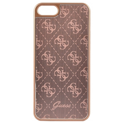 Guess IriDescent Rose Gold Book Case iPhone 7/8