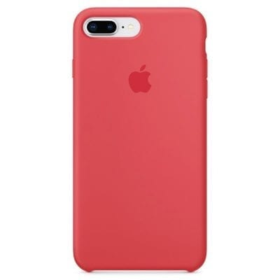 Apple Red Raspberry Silicone Case iPhone X