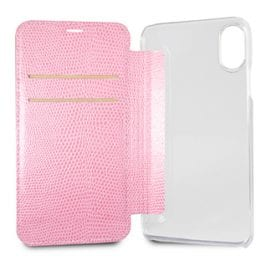 Guess Python Pink Book Case iPhone X/XS