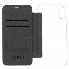 Guess 4G Charms Brown Book Case iPhone X/XS