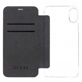 Guess 4G Charms Black Book Case iPhone X/XS