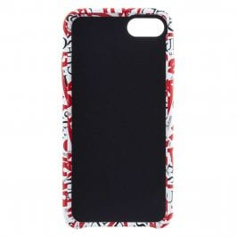 Guess Triangle Hard White and Red Case iPhone 7/8