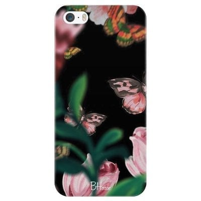 Black Butterflies Case iPhone SE/5S
