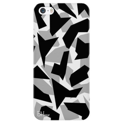 Camo Grey Case iPhone SE/5S