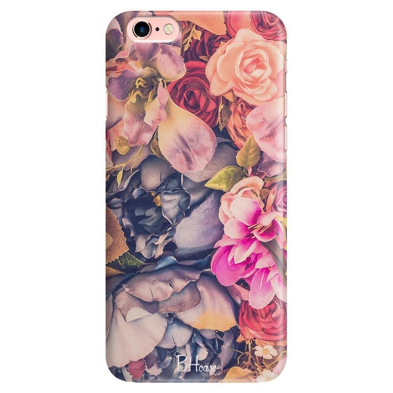 Colorful Flowers Case iPhone 6/6S