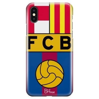 FC Barcelona Case iPhone XS Max