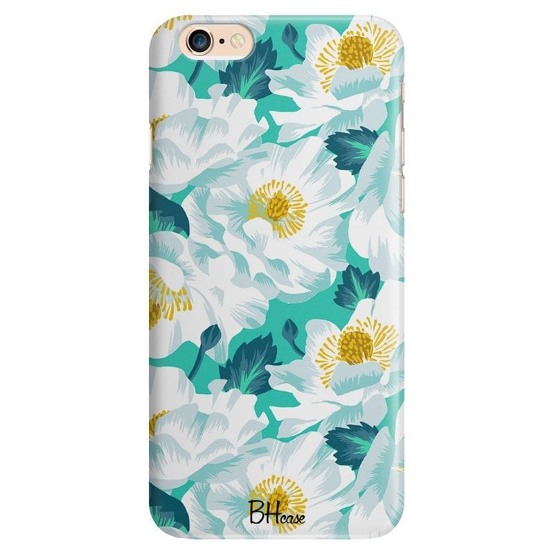 Floral Lime Case iPhone 6/6S