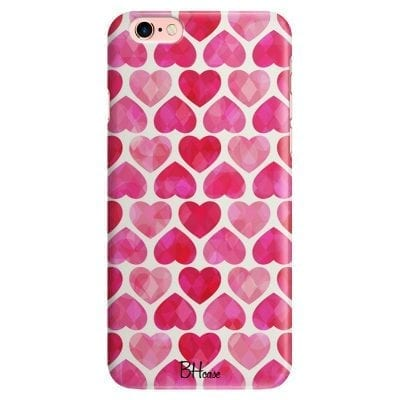 Hearts Pink Case iPhone 6/6S