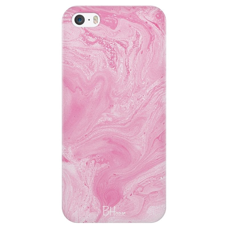 Marble Pink Case iPhone SE/5S