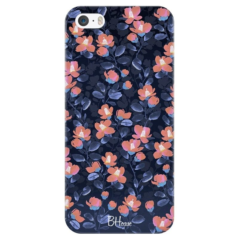 Midnight Floral Case iPhone SE/5S