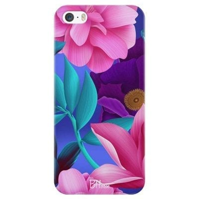 Pinky Floral Case iPhone SE/5S