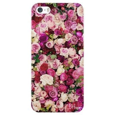 Roses Pink Case iPhone SE/5S