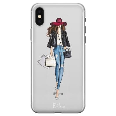 Shopping Girl Case iPhone XS Max