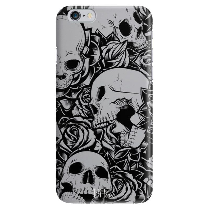 Skulls Rose Case iPhone 6/6S