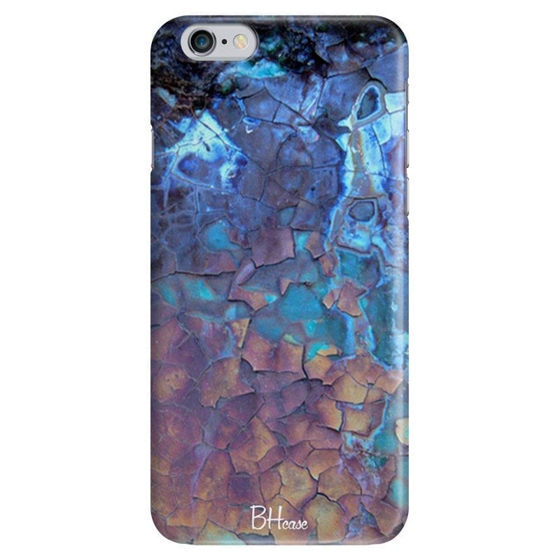 Stone Cracked Blue Case iPhone 6 Plus/6S Plus