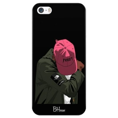 Supreme Faded Yeezy Boy Case iPhone SE/5S