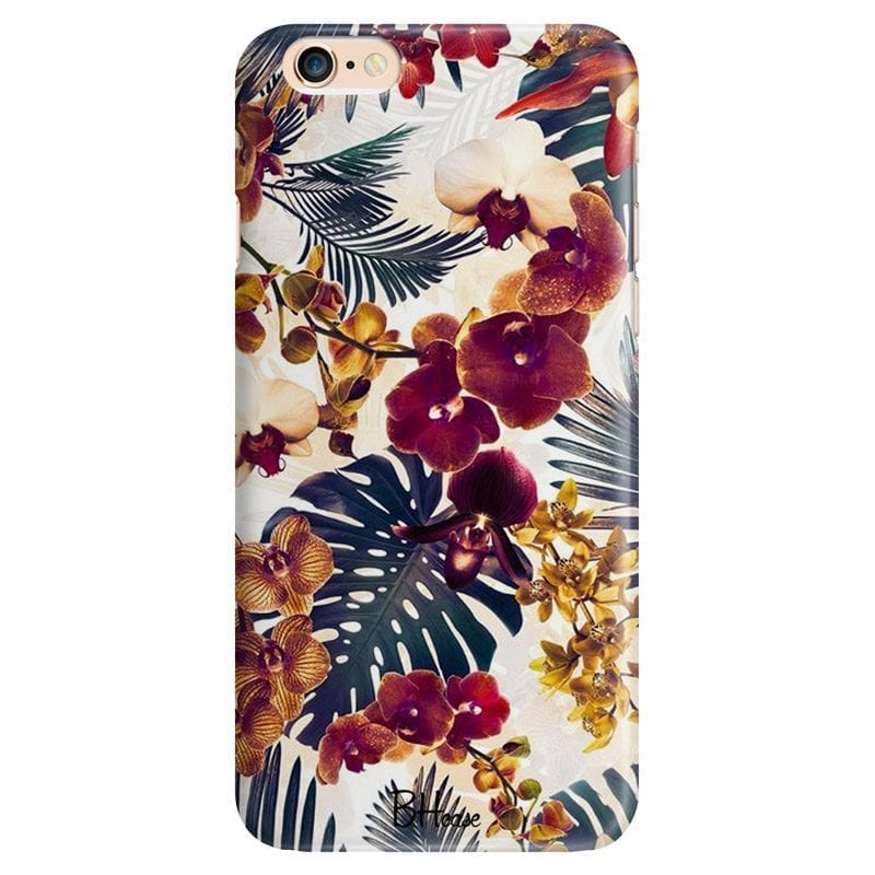 Tropical Floral Case iPhone 6/6S