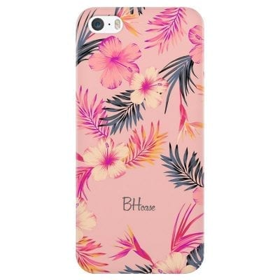 Tropical Pink Case iPhone SE/5S