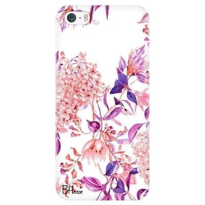 Vintage Pink Flowers Case iPhone SE/5S