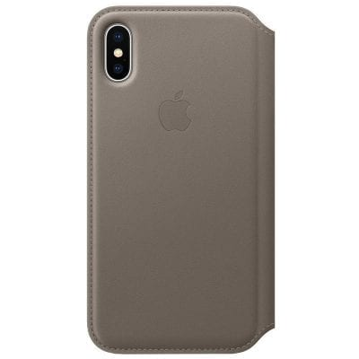 Apple Flip Taupe Case iPhone X/XS