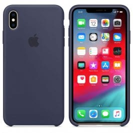 Apple Midnight Blue Silicone Case iPhone XS Max
