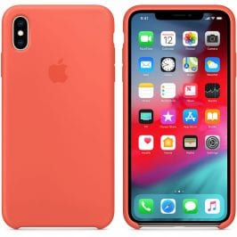 Apple Nectarine Silicone Case iPhone XS Max