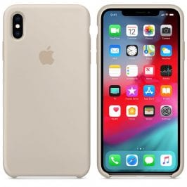 Apple Stone Silicone Case iPhone XS Max