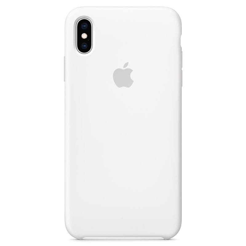 Apple Black Silicone Case iPhone XS Max