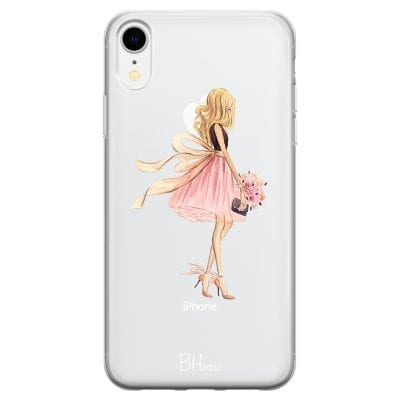Blonde Girl Case iPhone XR