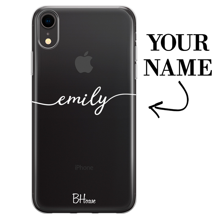 Case with name for iPhone XR