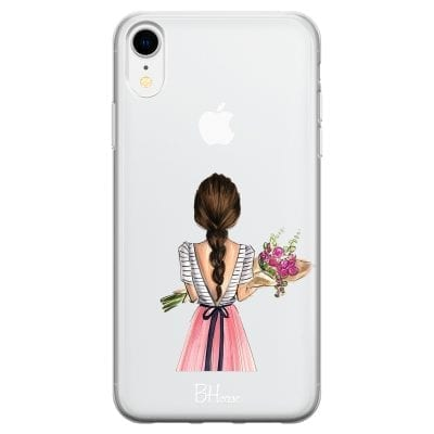 Floral Girl Case iPhone XR