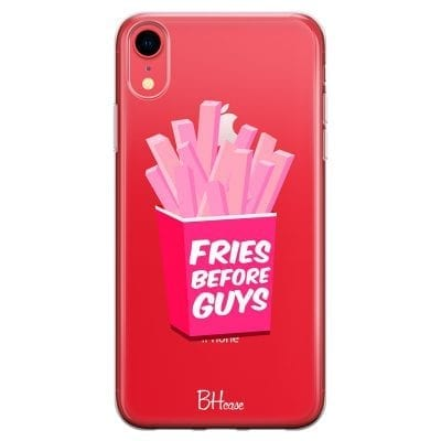 Fries Before Guys Case iPhone XR