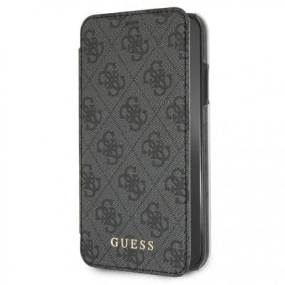Guess Charms 4G Grey Book Case iPhone XR