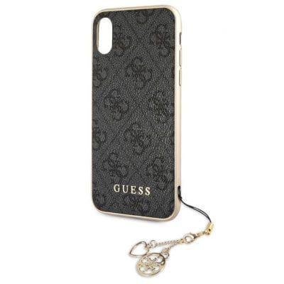 Guess Charms 4G Grey Case iPhone XR