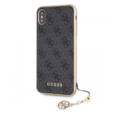 Guess Charms 4G Grey Case iPhone XS Max