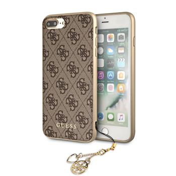 Guess 4G Charms Brown Case iPhone 8 Plus/7 Plus/6S Plus/6 Plus