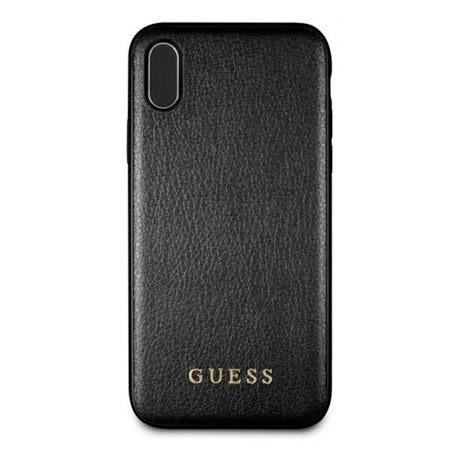 Guess Iridescent Black Case iPhone XS Max