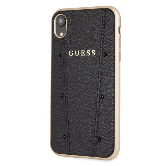 Guess Kaia Black Case iPhone XR
