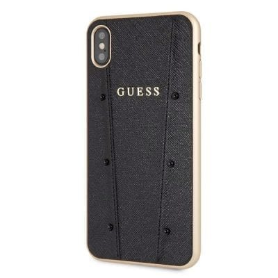 Guess Kaia Black Case iPhone XS Max